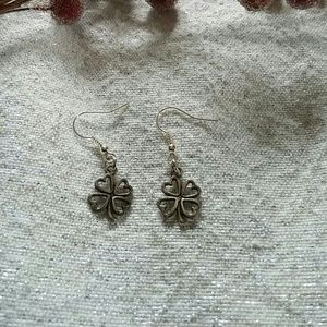 Four Leaf Clover Dangle Earrings
